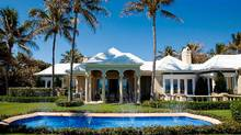 The Asper family is unloading another family landmark – the late Izzy Asper's beloved mansion in Palm Beach, Fla. The 12,500-square-foot oceanfront property was listed for sale last month at an asking price of $35-million (U.S.). (SothebysHomes.com)