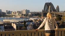 The writer in Sydney. (Tanya Barker)