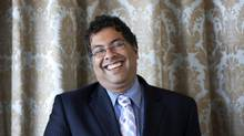 Calgary's Mayor Naheed Nenshi is an avid theatregoer. (Chris Young For The Globe and Mail)