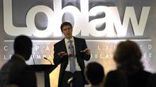 Loblaw Cos. executive chairman Galen G. Weston. The food retailer announced this month it plans to create a REIT from its real estate holdings. (MIKE CASSESE/REUTERS)