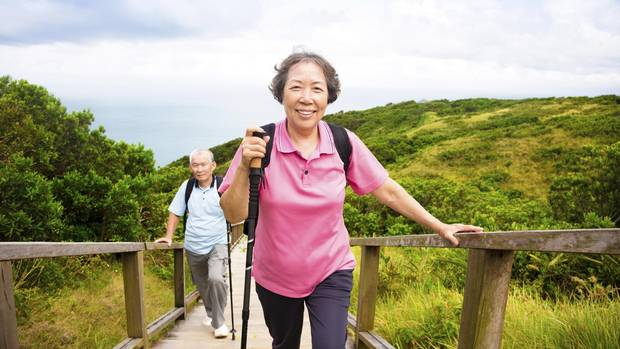 Walking And Health - Magazine cover