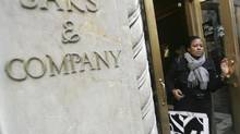 Saks shares rise on report it hired Goldman to explore options (Mary Altaffer/AP)