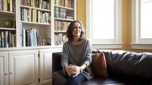 Author Cathy Marie Buchanan in Toronto on January 9, 2013. (Moe Doiron/The Globe and Mail)