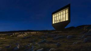 Another view of the Fogo Island Arts colony