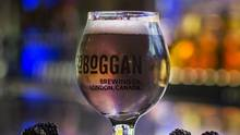 Blackberry Cider, Toboggan Brewery