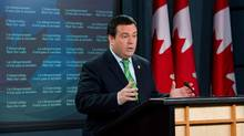 Minister of Immigration and Citizenship Jason Kenney speaks during a press conference at the National Press Theatre in Ottawa on Monday, September 10, 2012. THE CANADIAN PRESS/Sean Kilpatrick (Sean Kilpatrick/THE CANADIAN PRESS)