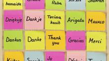 Thank you in different languages (Getty Images/iStockphoto)