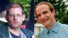 Michael (Devlin) Sabo, left, and Ike Murray, in photos provided by RCMP. (Handout)