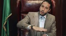Saadi Gaddafi (STR/REUTERS)