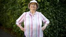 Vancouverite Mary Rawson, 85, one of the increasing number of people who live on their own, isn't staunchly opposed to having a roommate, but there are times, she says, when it's nice to be alone. (John Lehmann/The Globe and Mail)