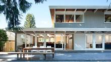 Architect Steve McFarlane opened up this mid-century house on North Vancouver's Glenview Crescent. (Ema Peter)