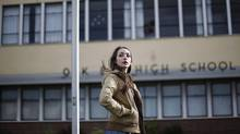 Oak Bay High School student Sarah Broitman is denied a chance to go to a national debate because of a membership fee mix-up. (CHAD HIPOLITO for THE GLOBE AND MAIL)