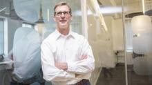 Stuart Lombard, founder of Toronto-based Ecobee Inc., a smart, WiFi-enabled thermostat company. (Michelle Siu/The Globe and Mail)