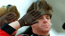 The RCMP say their time-honoured muskrat hat will continue to be issued to officers working in extreme cold (Ken Gigliotti/CP PHOTO/Winnipeg Free Press)
