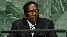 Tanzania's Prime Minister Mizengo Pinda addresses the Millennium Development Goals Summit at the United Nations headquarters in New York, September 20, 2010. (EMMANUEL DUNAND/Emmanuel Dunand/AFP/Getty Images)