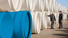 Ipex Management Inc. makes thermoplastic pipe used in infrastructure for plumbing in buildings, factories and municipal water systems. (Ipex)