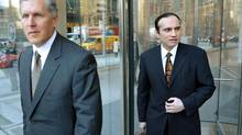 Bruce Walter, left, and Jowdat Waheed say allegations were a 'tactical' move in the takeover battle. (J.P. MOCZULSKI FOR THE GLOBE AND MAIL)