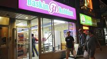 Baskin-Robbins brought in $1.8-billion in sales last year from its 6,777 outlets around the world. (Kevin Van Paassen/The Globe and Mail)