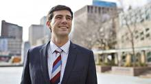 Edmonton's mayor-elect Don Iveson on Oct. 22, 2013. (JASON FRANSON for The Globe and Mail)