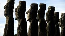 Easter Island, more famous for its stone statues, may hold something valuable in its soil: A bacteria-produced chemical that has been found to boost memory and learning abilities in mice. (Carlos Barria/Reuters)