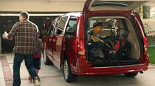 """Of all the minivans in the world the Dodge Grand Caravan is the minivan-iest. Each one should come with a bumper stick that reads: """"I Breed,"""" writes Andrew Clark. (Chrysler)"""