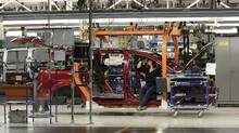 A large Canadian auto-parts company has put an acquisition of a company with Mexican operations on hold, signalling the deep concern in Canada's auto sector about the threat looming over NAFTA from President Donald Trump's promise to tear up the trade agreement. (Jeff Kowalsky/Bloomberg)