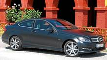 2012 Mercedes-Benz C-Class Coupe: Mercedes-Benz increasingly wants to compete in every category and adding a sports couple to its lineup was long overdue. (Dan Proudfoot for the Globe and Mail)