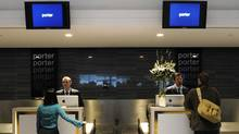Porter Airlines will post its first annual profit this year. (Kevin Van Paassen/The Globe and Mail/Kevin Van Paassen/The Globe and Mail)