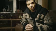 Rapper Drake is seen in his Toronto home on December 12, 2009. (Jennifer Roberts For The Globe and Mail)