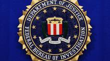 The seal of the U.S. Federal Bureau of Investigation. (MANDEL NGAN/AFP/GETTY IMAGES)