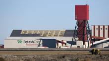 A file photo of the exterior of the Potash Corp. Rocanville potash plant. (TROY FLEECE/THE CANADIAN PRESS)