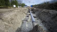 The site of the damaged Rainbow pipeline is now repaired and replaced with new pipeline. (Jimmy Jeong/Jimmy Jeong)