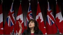 Ontario Auditor-General Bonnie Lysyk found that the province may have overpaid to the tune of $8-billion for 74 major infrastructure projects, dating back nine years. (Nathan Denette/THE CANADIAN PRESS)