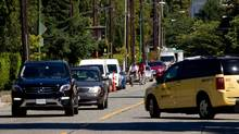 The 2016 TomTom Traffic Index finds Vancouver motorists cut their time in traffic jams by an average of four hours. (DARRYL DYCK For The Globe and Mail)
