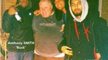 Mohammad Khattak, right, is shown posing with Toronto Mayor Rob Ford, second from left, and two other men. (TORONTO POLICE SERVICE)