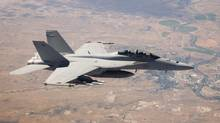The federal government has started negotiations this year to buy 18 Boeing Super Hornet fighter planes as an interim measure to bolster the capacity of the Royal Canadian Air Force as it seeks a longer-term solution to replace its fleet of aging CF-18 warplanes. (Boeing)