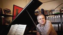 Jeremy Denk, seen in New York, has gained an audience both for his music and for his writing. Last year, he won a $625,000 MacArthur Foundation fellowship for his 'eloquence with notes and words.' (The Associated Press)