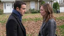 Justin Theroux and Emily Blunt play Tom and Rachel, who are entangled in a mystery after Emily observes something from her train. (Barry Wetcher)