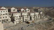 A view of a construction site in the West Bank Jewish settlement of Maale Adumim, near Jerusalem, in 2009. (BAZ RATNER/REUTERS)
