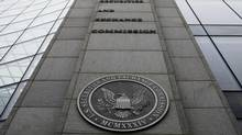 The Securities and Exchange Commission (SEC) headquarters in Washington. (AP)