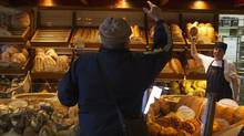 An Atwater Market bakery in Montreal. The rise in food prices abated as 2011 came to an end. (Christinne Muschi/The Globe and Mail/Christinne Muschi/The Globe and Mail)