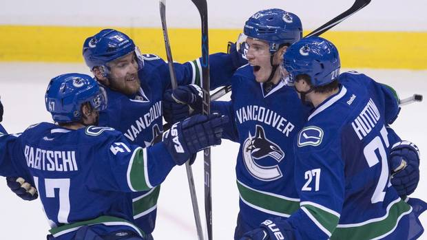 Canucks Youngsters Horvat, Baertschi Look To Take Load Off Of Sedins