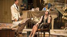 Tyrone Savage and Cynthia Dale star in Hay Fever, the 1924 Noel Coward comedy that in the hands of Alisa Palmer comes off as hollow, whether intentional or not. (Cylla von Tiedemann/Stratford Festival)