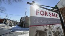 A home on Delaney Crescent and Brock Ave. in Toronto is for sale on March 3 2014. (Fred Lum/Fred Lum/The Globe and Mail)