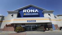 Rona CEO Robert Sawyer said inflation is expected to come. (Fred Lum/The Globe and Mail)