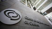 The Caisse de depot et placement du Quebec (CDP) building is seen in Montreal. (CHRISTINNE MUSCHI/REUTERS)