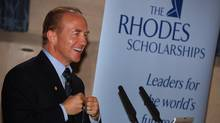 John McCall MacBain, a Rhodes scholar from Niagara Falls, Ont., will give a $120-million donation to the Rhodes scholarship program. (HANDOUT)