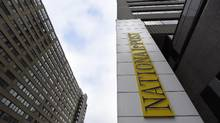 Postmedia, owner of the National Post, paid retention bonuses to senior executives involved in the company's debt restructuring. (Fred Lum/The Globe and Mail)