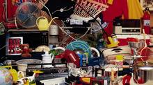 Cluttered household items (Comstock/Comstock)