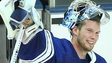Toronto Maple Leafs goalie James Reimer Tom Szczerbowski-US PRESSWIRE (Tom Szczerbowski/US PRESSWIRE)
